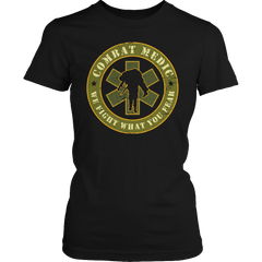 Limited Edition - Combat Medic Ladies Classic Shirt / Black / S