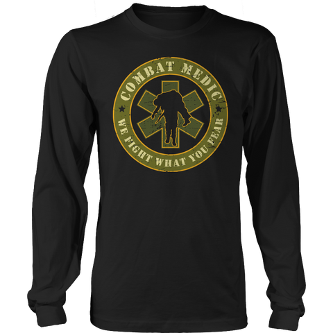 Limited Edition - Combat Medic Long Sleeve / Black / S