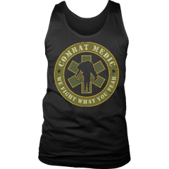 Limited Edition - Combat Medic Tank Top / Black / S