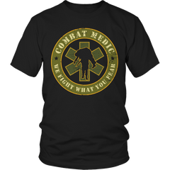 Limited Edition - Combat Medic Unisex Shirt / Black / S