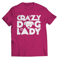 Limited Edition - Crazy Dog Lady Unisex Shirt / Pink / S