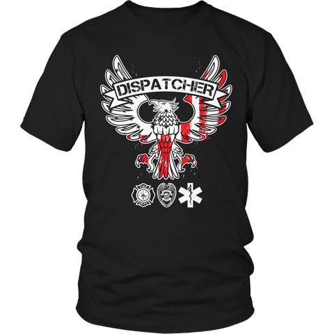 Limited Edition - Dispatcher Unisex Shirt / Black / S