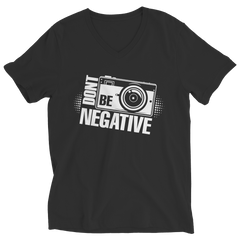 Limited Edition - Don't Be Negative Ladies V-Neck / Black / S