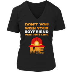 Limited Edition -  Don't you wish Ladies V-Neck / Black / S