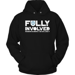 Limited Edition - Fully Involved POLICE Hoodie / Black / S