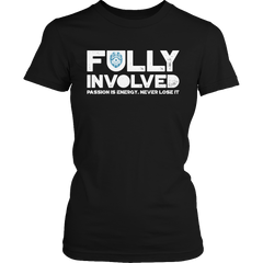 Limited Edition - Fully Involved POLICE Ladies Classic Shirt / Black / S