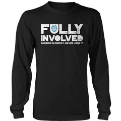 Limited Edition - Fully Involved POLICE Long Sleeve / Black / S