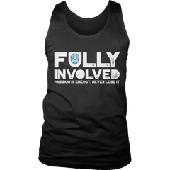 Limited Edition - Fully Involved POLICE Tank Top / Black / S