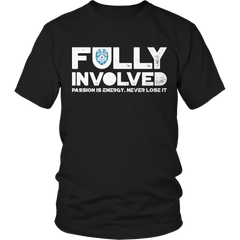 Limited Edition - Fully Involved POLICE Unisex Shirt / Black / S