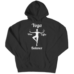 Limited Edition - Got Balance Hoodie / Black / S
