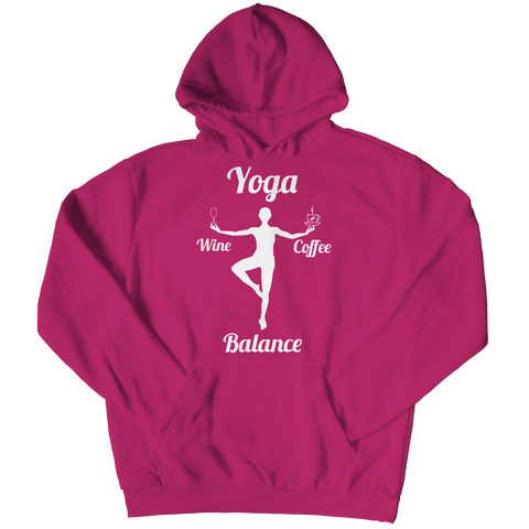 Limited Edition - Got Balance Hoodie / Pink / S