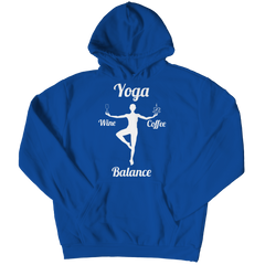 Limited Edition - Got Balance Hoodie / Royal / S