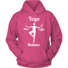 Limited Edition - Got Balance Hoodie / Sangria / S