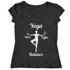 Limited Edition - Got Balance Ladies Classic Shirt / Black / S