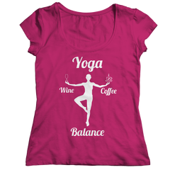 Limited Edition - Got Balance Ladies Classic Shirt / Pink / S