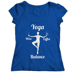 Limited Edition - Got Balance Ladies Classic Shirt / Royal / S