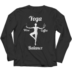 Limited Edition - Got Balance Long Sleeve / Black / S