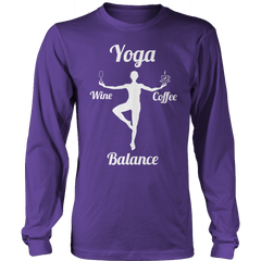 Limited Edition - Got Balance Long Sleeve / Purple / S