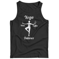 Limited Edition - Got Balance Tank Top / Black / S