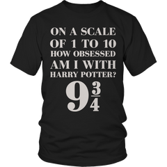 Limited Edition - Harry Potter Scale Unisex Shirt / Black / S