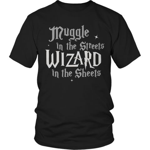 Limited Edition -Muggle In The Streets Unisex Shirt / Black / S