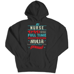 Limited Edition - Nurse Ninja Dad Hoodie / Black / S