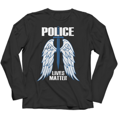 Limited Edition - Police Wings Long Sleeve / Black / S