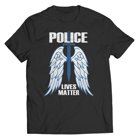 Limited Edition - Police Wings Unisex Shirt / Black / S