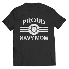 Limited Edition - Proud Navy Mom Unisex Shirt / Black / S