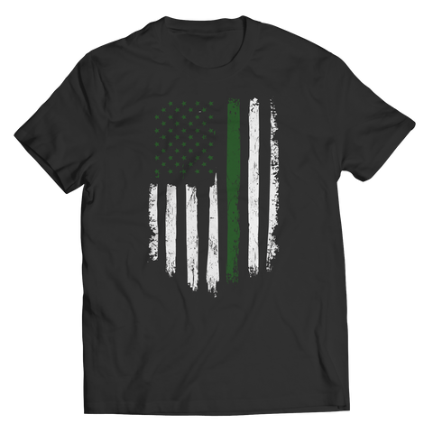 Limited edition - Soldier Flag Unisex Shirt / Black / S