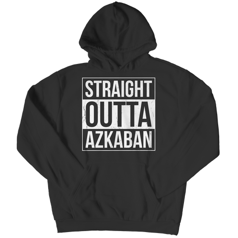 Limited Edition - Straight Outta Azkaban Hoodie / Black / S