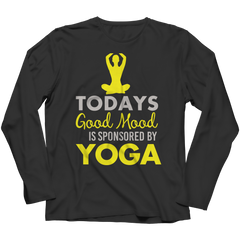 Limited Edition - Today's Good Mood Is Sponsored By Yoga Long Sleeve / Black / S