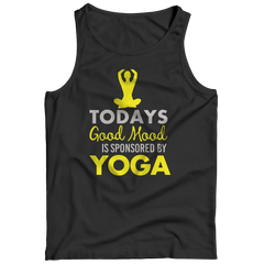 Limited Edition - Today's Good Mood Is Sponsored By Yoga Tank Top / Black / S