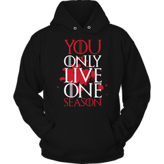 Limited Edition -  Y.O.L.O.S Hoodie / Black / S