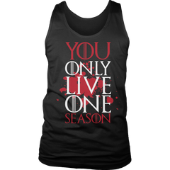 Limited Edition -  Y.O.L.O.S Tank Top / Black / S