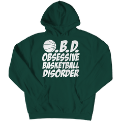 Obsessive Basketball Disorder | Hoodie Hoodie / Forest Green / 3XL