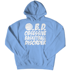Obsessive Basketball Disorder | Hoodie Hoodie / Light Blue / 3XL