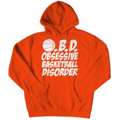 Obsessive Basketball Disorder | Hoodie Hoodie / Orange / 3XL