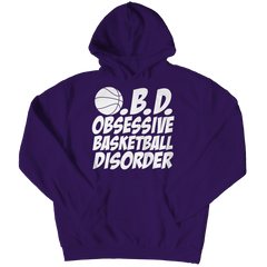 Obsessive Basketball Disorder | Hoodie Hoodie / Purple / 3XL