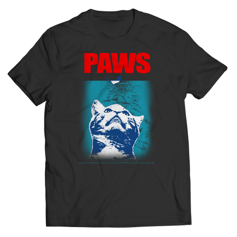 Paws Unisex Shirt / Black / 3XL