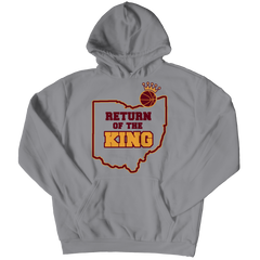 Return Of The King Hoodie / Athletic Heather / 3XL