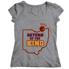 Return Of The King Ladies Classic Shirt / Athletic Heather / 2XL