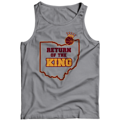 Return Of The King Tank Top / Athletic Heather / 2XL