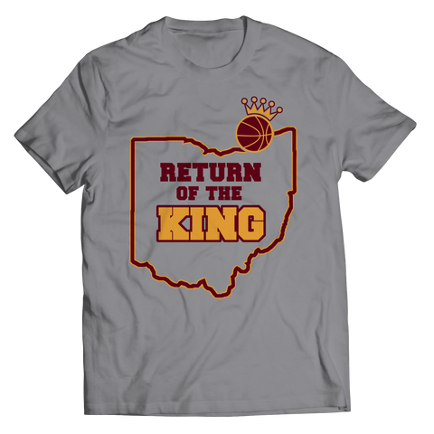 Return Of The King Unisex Shirt / Athletic Heather / 3XL