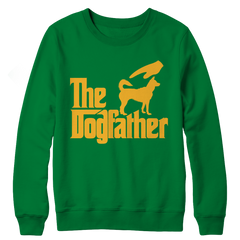 The Dogfather Crewneck Fleece / Kelly / S