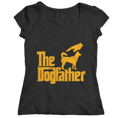 The Dogfather Ladies Classic Shirt / Black / 2XL