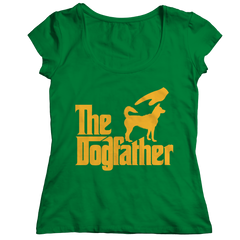 The Dogfather Ladies Classic Shirt / Kelly / 2XL
