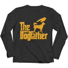 The Dogfather Long Sleeve / Black / 4XL