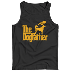 The Dogfather Tank Top / Black / 3XL