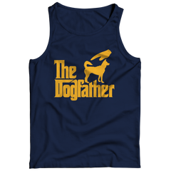 The Dogfather Tank Top / Navy / 3XL
